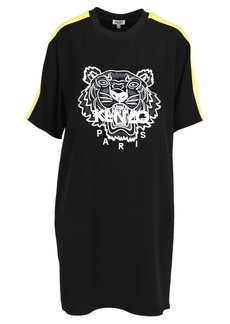 Kenzo Kenzo Embroidered Tiger T-shirt Style Dress