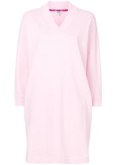 Kenzo Kenzo Logo sweatshirt dress - Pink & Purple