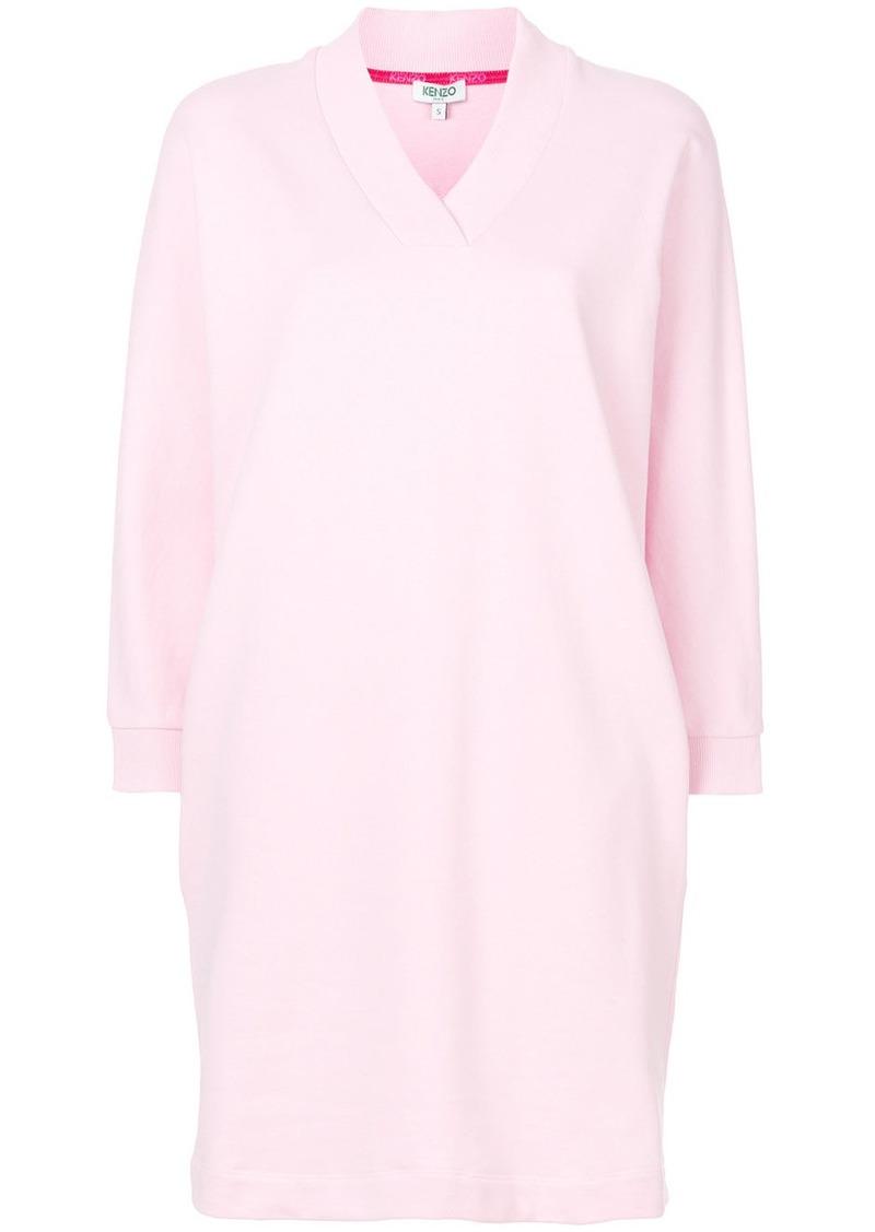 Kenzo Kenzo Kenzo Logo sweatshirt dress - Pink   Purple  33c2bd4e0944