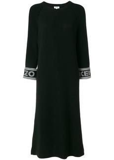 Kenzo knitted midi dress - Black