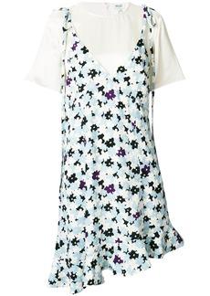 Kenzo layered floral print dress