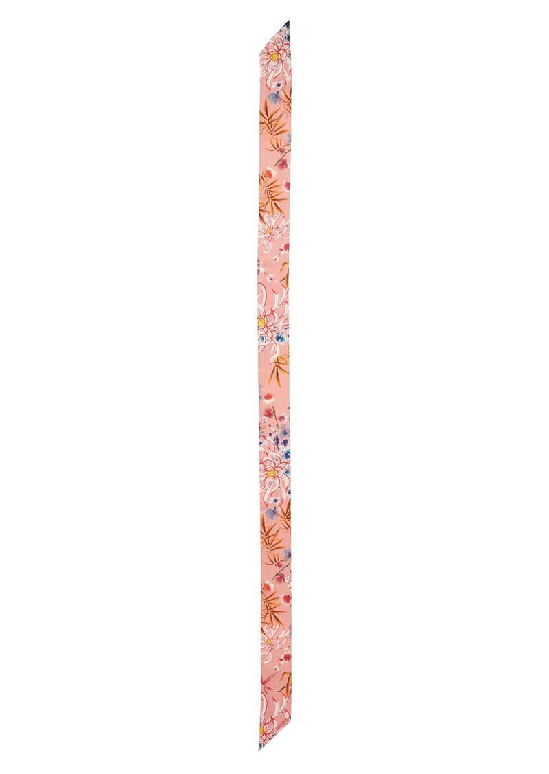 KENZO Lily Flowers Silk Scarf