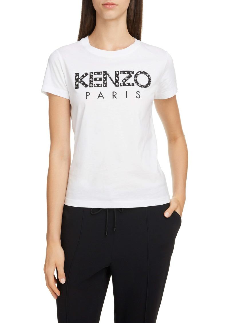 KENZO Logo Appliqué Cotton Tee