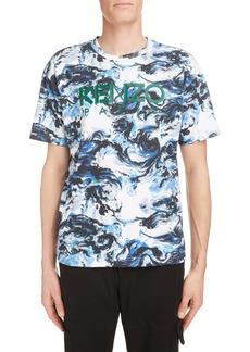 KENZO Logo Cloud Graphic T-Shirt