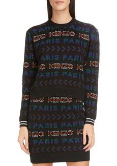 KENZO Logo Crewneck Sweater