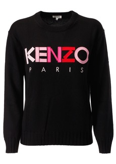 Kenzo Logo Embroidered Sweater