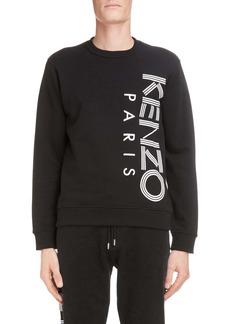 KENZO Logo Graphic Cotton Sweatshirt