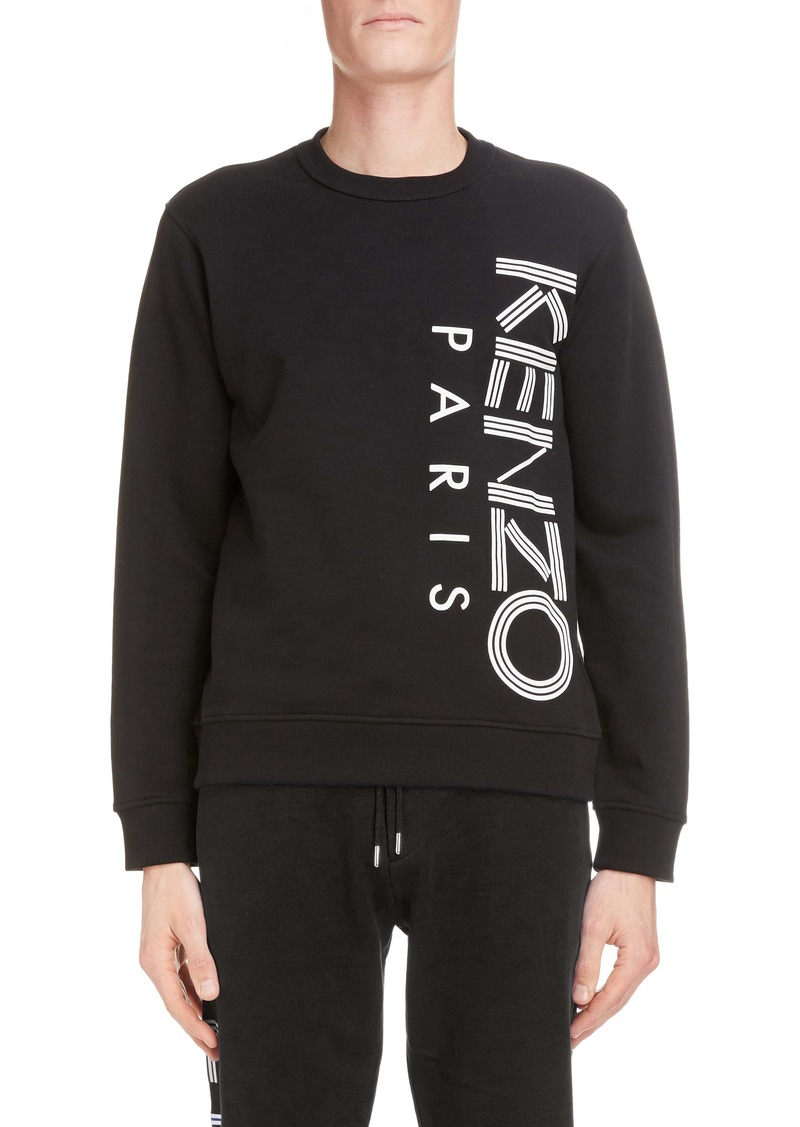 KENZO Logo Graphic Cotton Sweatshirt