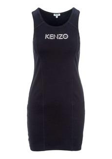 Kenzo Logo Print Tank Top Dress
