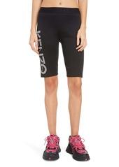 KENZO Logo Stretch Cotton Cyclist Shorts