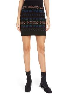 KENZO Logo Tube Skirt