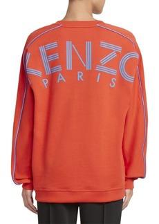 Kenzo Logo V-Neck Sweatshirt