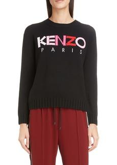 KENZO Logo Wool Sweater