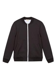 Kenzo Logo Zip-Up Fleece Cardigan  Size 8-12