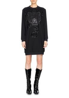 Kenzo Long-Sleeve Graphic Sweaterdress