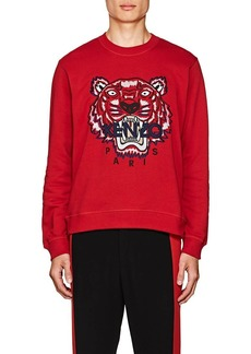 Kenzo Men's Appliquéd Cotton Fleece Sweatshirt