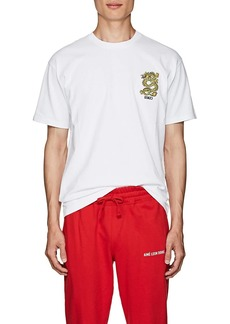 Kenzo Men's Embroidered-Dragon Cotton T-Shirt