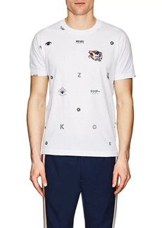 Kenzo Men's Embroidered Logo Cotton T-Shirt
