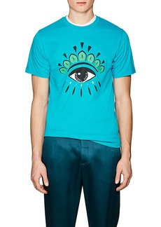 Kenzo Men's Eye-Print Cotton Jersey T-Shirt