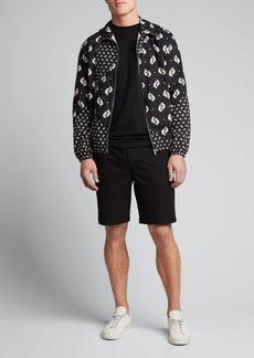Kenzo Men's Ikat Pattern Bomber Jacket