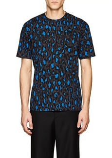 Kenzo Men's Leopard-Print Cotton T-Shirt