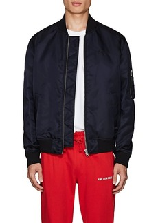 Kenzo Men's Logo-Tiger Tech-Twill Bomber Jacket