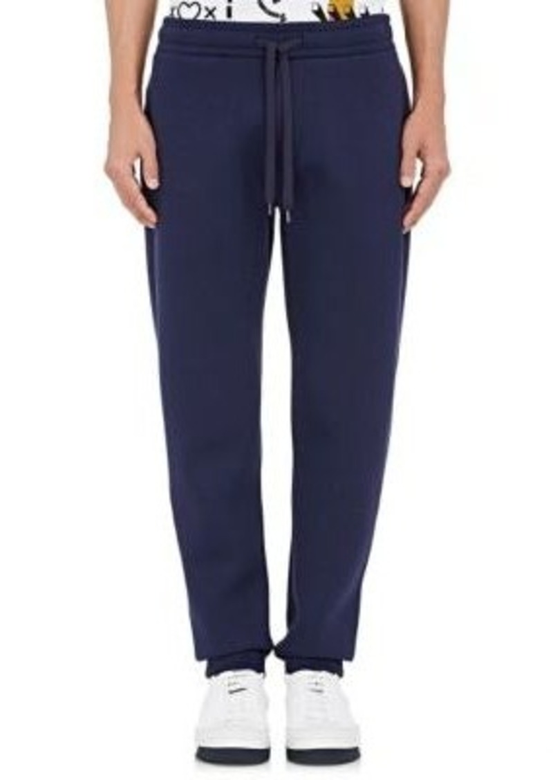 Kenzo Men's Neoprene Jogger Pants-Navy Size XL