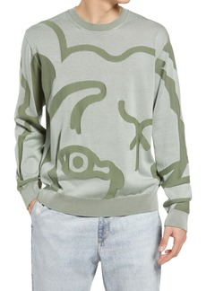 KENZO Men's Tiger Cotton Sweater