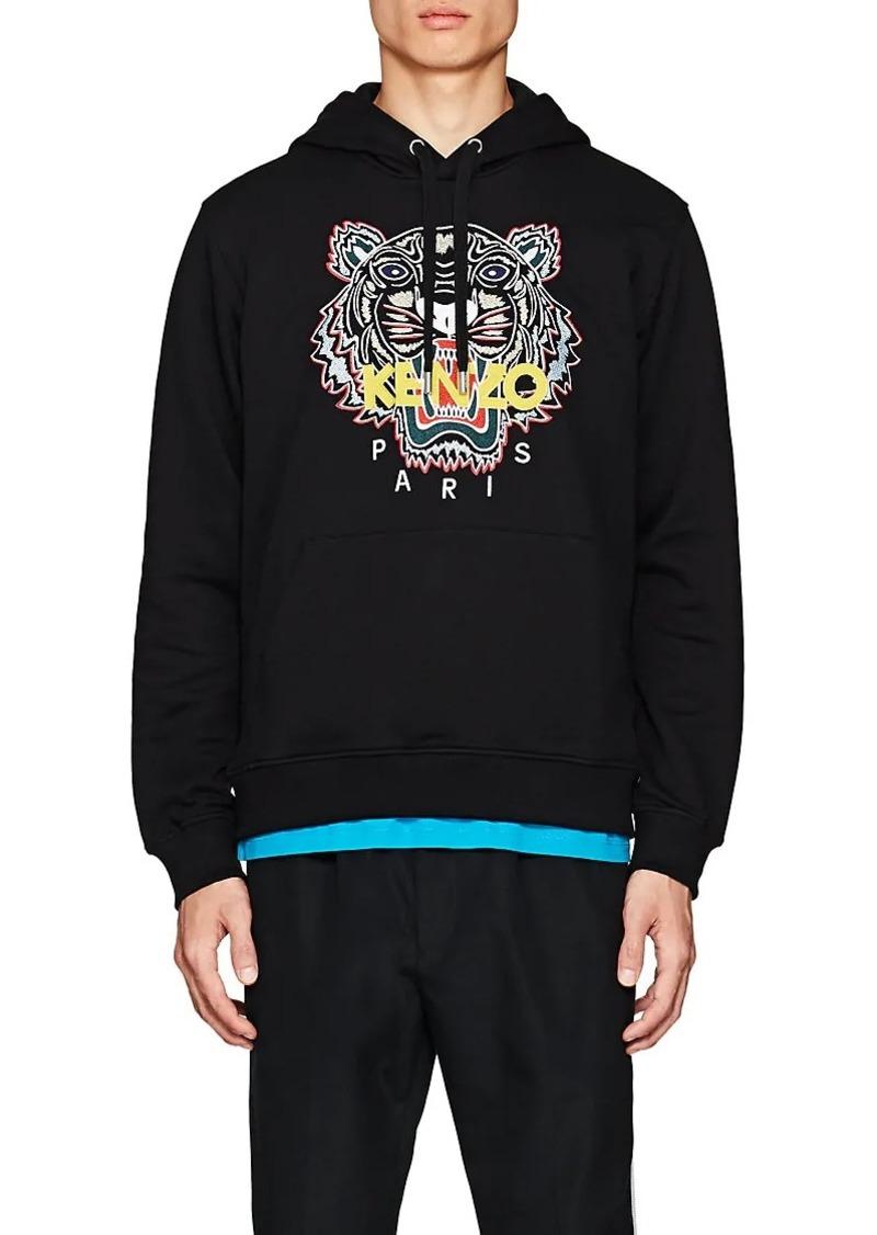 77a01c8e42e Kenzo Kenzo Men's Tiger-Embroidered Cotton Hoodie | Outerwear