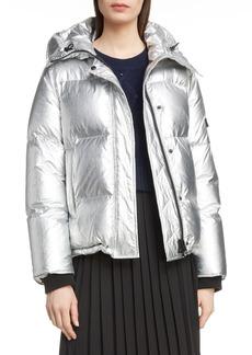 KENZO Metallic Down Puffer Coat