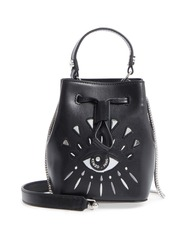 c39a076d92 Kenzo KENZO Mini Eye Embroidery Leather Bucket Bag | Handbags