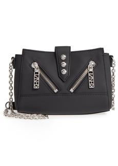 KENZO Mini Kalifornia Grommato Leather Shoulder Bag