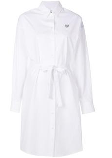 Kenzo Mini Tiger shirt dress - White