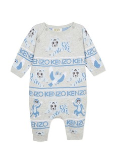 Kenzo Monkey & Tiger Knit Coverall  Size 6-18 Months