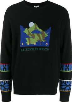 KENZO Mountain knitted sweater