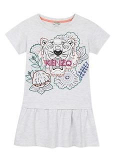 KENZO Multi Iconic Graphic Dress (Toddler Girl, Little Girl & Big Girl)