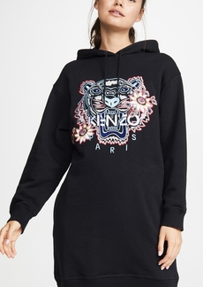 KENZO Passion Flower Tiger Sweatshirt Dress