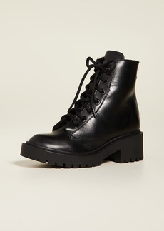 KENZO Pike Shearling Lined Boots