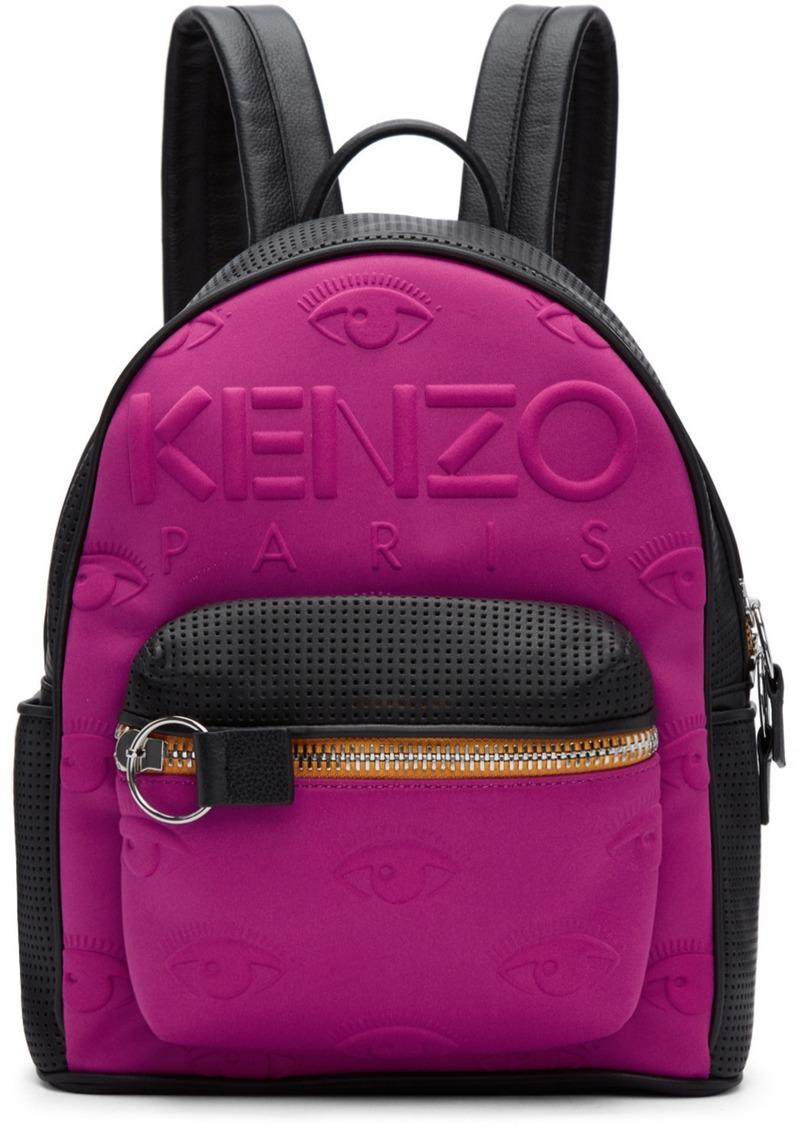 Kenzo Pink Black Kombo Backpack Handbags Bacpack
