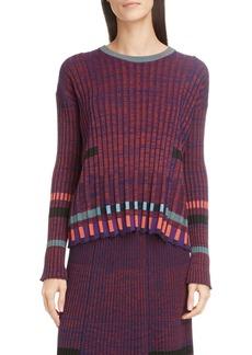 KENZO Pleated Crewneck Sweater