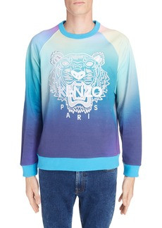 KENZO Rainbow Embroidered Tiger Sweatshirt