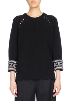 Kenzo Ribbed Sport Comfort Sweater