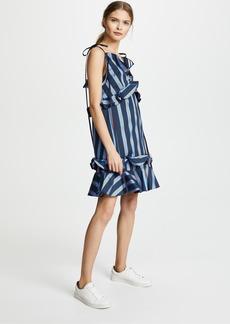 KENZO Ruffled Mini Strapped Dress