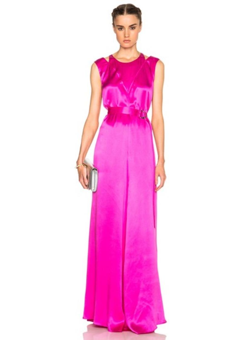 Kenzo Sandwashed Silk Maxi Dress