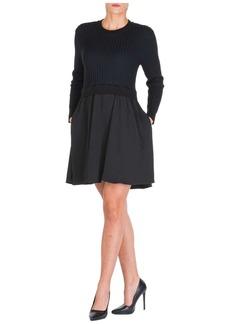 Kenzo Short Mini Dress Long Sleeve