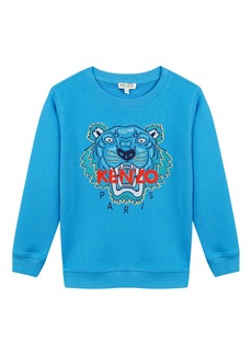 Kenzo Signature Tiger Sweatshirt  Size 5-6