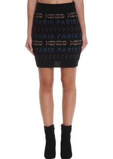 Kenzo Skirt In Multicolor Wool