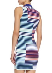 Kenzo Sleeveless Ribbed Intarsia Dress
