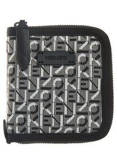 KENZO Small Woven Zip Wallet