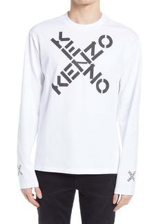 KENZO Sport Little X Long Sleeve Graphic Tee